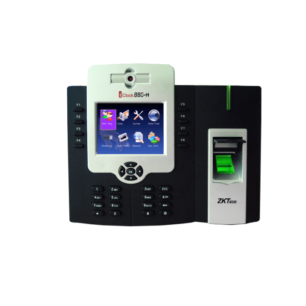 ZKTeco iClock 880, ZKTeco iClock880 Fingerprint Time Attendance and Access Control