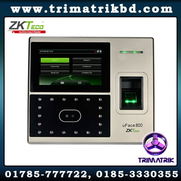 ZKTeco uFace800 Bangladesh trimatrik zkteco bd