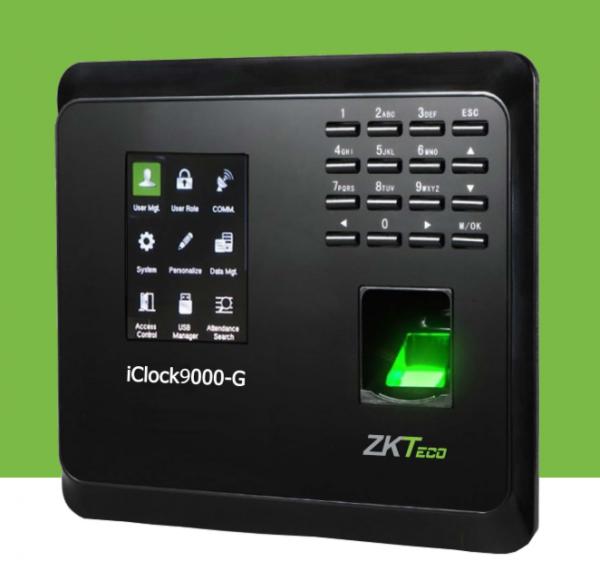 ZKTeco iClock9000-G GPRS Fingerprint Time Attendance & Access Contrl