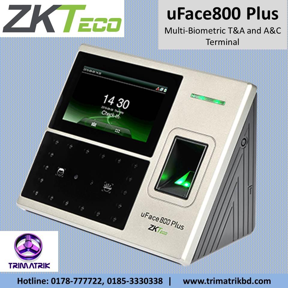 ZKTeco uFace800 Plus in BD, ZKTeco uFace800 Plus Price in BD
