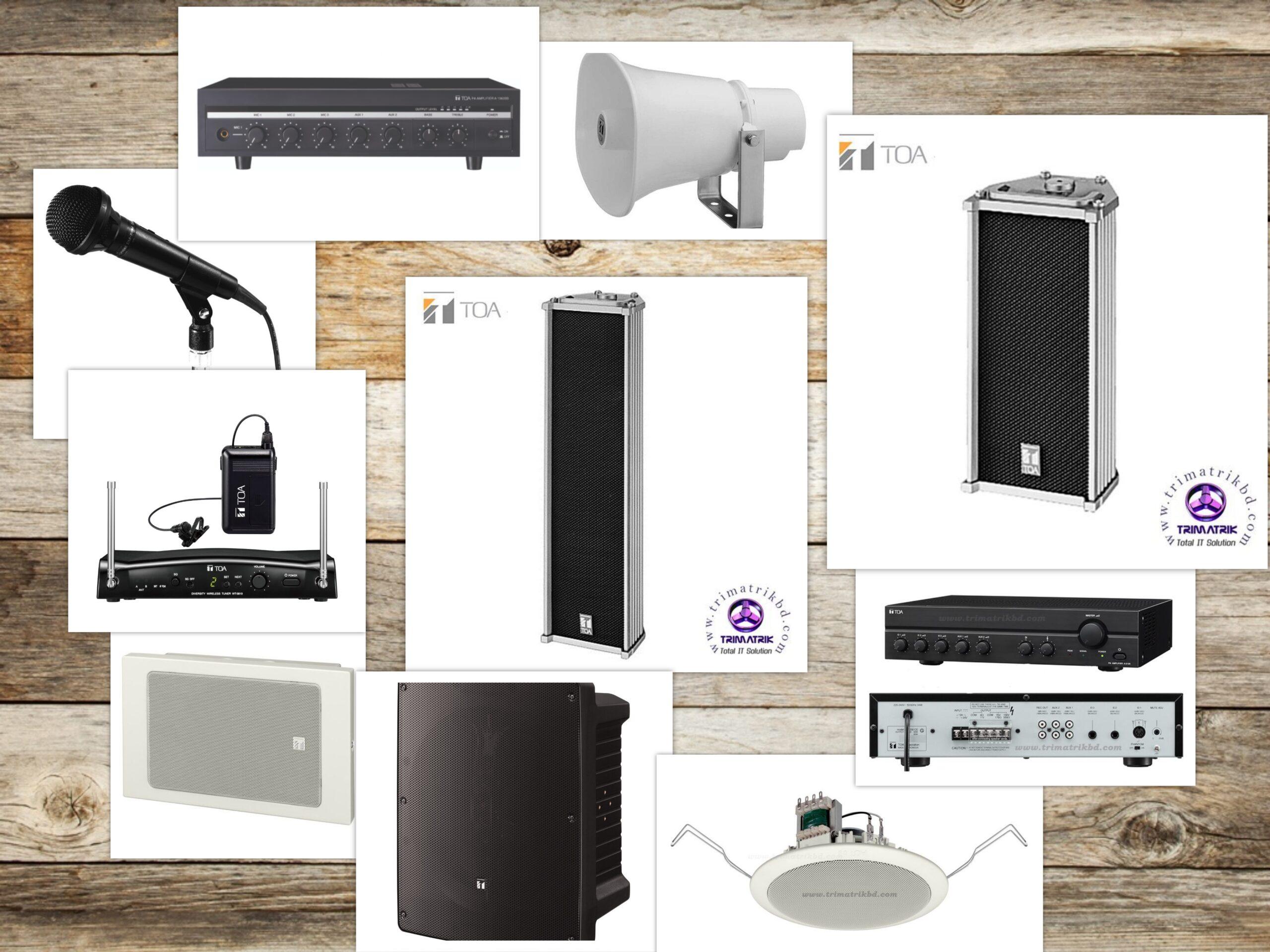 toa bd scaled, Toa sound system Bangladesh