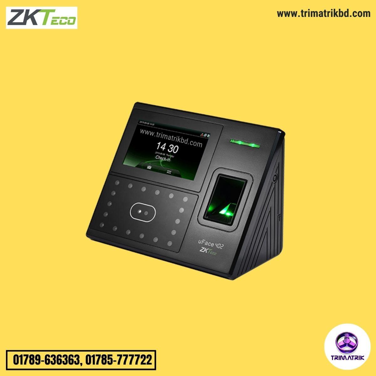 ZKTeco uFace402 Price in Bangladesh, TRIMATRIK